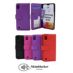 Skimblocker Plånboksfodral Samsung Galaxy A10 (A105F/DS) Svart