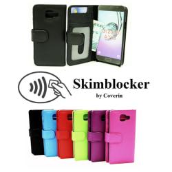 Skimblocker Plånboksfodral Samsung Galaxy A3 2016 (A310F) Röd