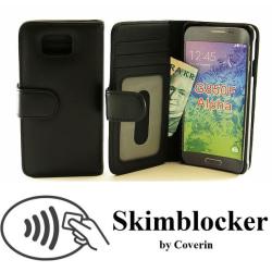Skimblocker Plånboksfodral Samsung Galaxy Alpha (G850F)