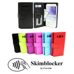 Skimblocker Plånboksfodral Samsung Galaxy J5 2016 (J510F) Svart