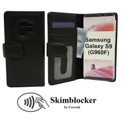 Skimblocker Plånboksfodral Samsung Galaxy S9 (G960F) Svart