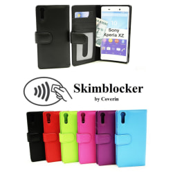 Skimblocker Plånboksfodral Sony Xperia XZ/XZs (F8331/G8231) Lila