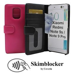 Skimblocker Plånboksfodral Xiaomi Redmi Note 9s/Note 9 Pro Svart