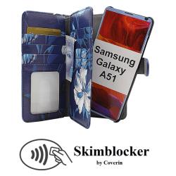 Skimblocker XL Magnet Designwallet Samsung Galaxy A51