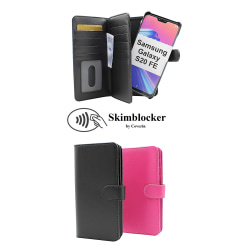 Skimblocker XL Magnet Fodral Samsung Galaxy S20 FE Svart