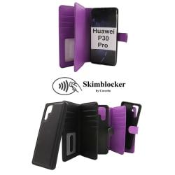 Skimblocker XL Magnet Wallet Huawei P30 Pro (VOG-L29) Svart