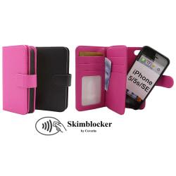 Skimblocker XL Magnet Wallet iPhone 5/5s/SE Svart