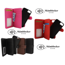 Skimblocker XL Magnet Wallet iPhone 8 Röd G673