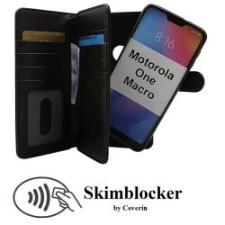Skimblocker XL Magnet Wallet Motorola One Macro