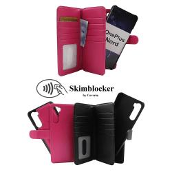 Skimblocker XL Magnet Wallet OnePlus Nord (Svart) Svart