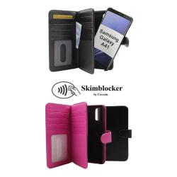 Skimblocker XL Magnet Wallet Samsung Galaxy A41 Svart