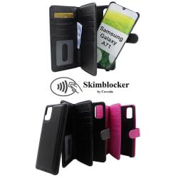 Skimblocker XL Magnet Wallet Samsung Galaxy A71 (A715F/DS) Svart