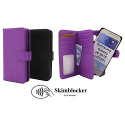 Skimblocker XL Magnet Wallet Samsung Galaxy J5 2016 (J510F) Lila