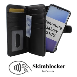 Skimblocker XL Magnet Wallet Samsung Galaxy S10e (G970F) (Svart)