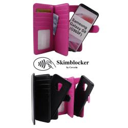 Skimblocker XL Magnet Wallet Samsung Galaxy S9 (G960F) Svart
