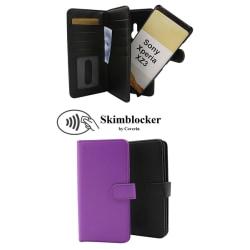 Skimblocker XL Magnet Wallet Sony Xperia XZ3 Svart
