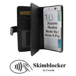Skimblocker XL Wallet Xiaomi Redmi Note 9s / Note 9 Pro (Svart)