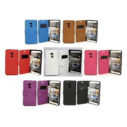 Standcase plånboksfodral HTC One Max (T6) Brun
