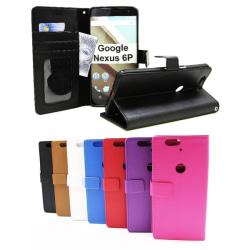 Standcase Wallet Google Nexus 6P Svart