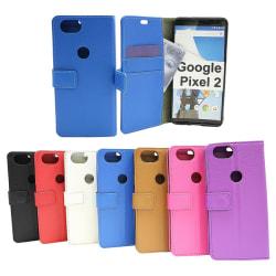 Standcase Wallet Google Pixel 2 Svart