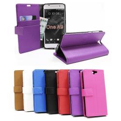 Standcase wallet HTC One A9 Svart
