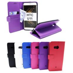 Standcase Wallet HTC U11 Hotpink