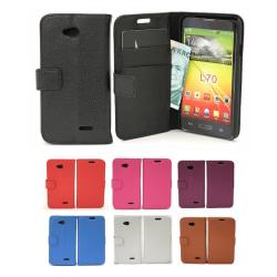 Standcase wallet LG L70 / L65 (D320 / D280) Hotpink