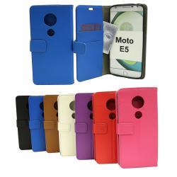 Standcase Wallet Motorola Moto E5 / Moto E (5th gen) Vit