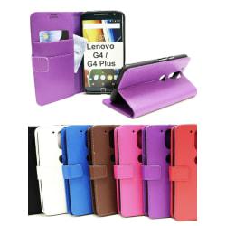 Standcase Wallet Motorola Moto G4 / G4 Plus Lila