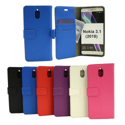 Standcase Wallet Nokia 3.1 (2018) Hotpink
