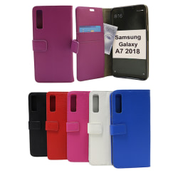 Standcase Wallet Samsung Galaxy A7 2018 (A750FN/DS) Hotpink