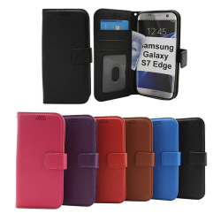 Standcase Wallet Samsung Galaxy S7 Edge (G935F) Brun