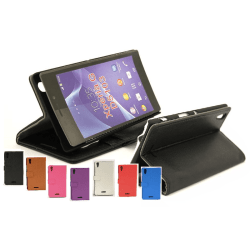 Standcase wallet Sony Xperia T3 (D5103) Lila