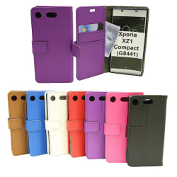 Standcase Wallet Sony Xperia XZ1 Compact (G8441) Lila