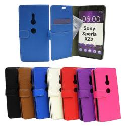 Standcase Wallet Sony Xperia XZ2 (H8266) Vit