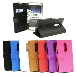 Standcase Wallet ZTE Axon 7 Blå