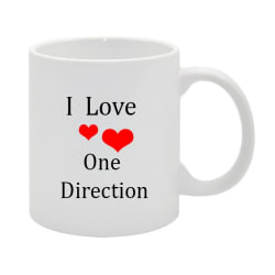 I LOVE ONE DIRECTION NO.3 MUGG