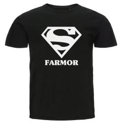 T-shirt - Super farmor Svart L