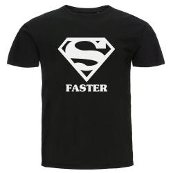 T-shirt - Super faster Svart M