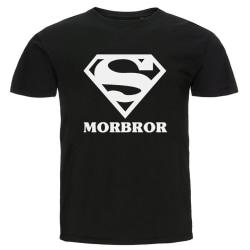 T-shirt - Super morbror Svart XXL