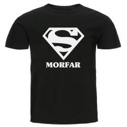 T-shirt - Super morfar Svart XL