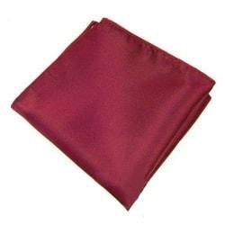 Näsduk till kostym - Vinröd vinröd