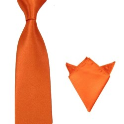 Paket - slips och näsduk  - Orange Orange