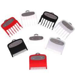 1.5mm + 4.5mm Size Guide comb Attachment Comb Set with a Metal H Red