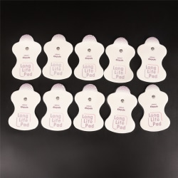 10 Pcs Electrode Replacement Pads For Omron Massagers Elepuls Lo onesie