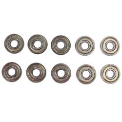 10pcs deep groove spherical carbon steel miniature bearings 629 Onesize
