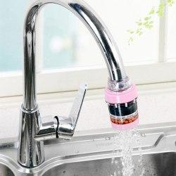 1st Kök Kran Vatten Spara Filter Hälsosamt Aktivt Kol för One Size