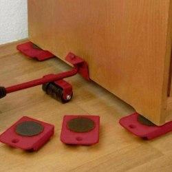 1pc Move Möbelverktyg Transport Shifter Move Wheel Slider Rem