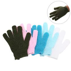 1pc shower exfoliating body scrub glove dead skin removal massa one size