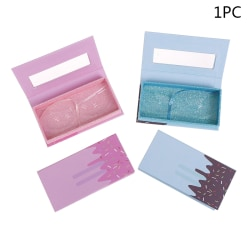 1Pcs False Eyelash Cases Empty Lashes Case Storage Box Lash Eye Blue